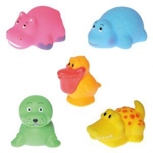 Tasje dieren badspeeltjes 2